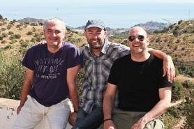Sergio Cascales, Toni Coca y Fernando Corrales